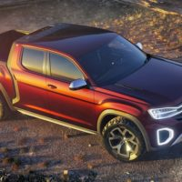 2019 VW Atlas Tanoak Pickup Truck